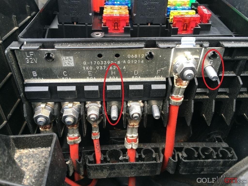 vw caddy fuse box sicherungskasten im motorraum     golf vi gti community     forum  sicherungskasten im motorraum     golf vi gti community     forum