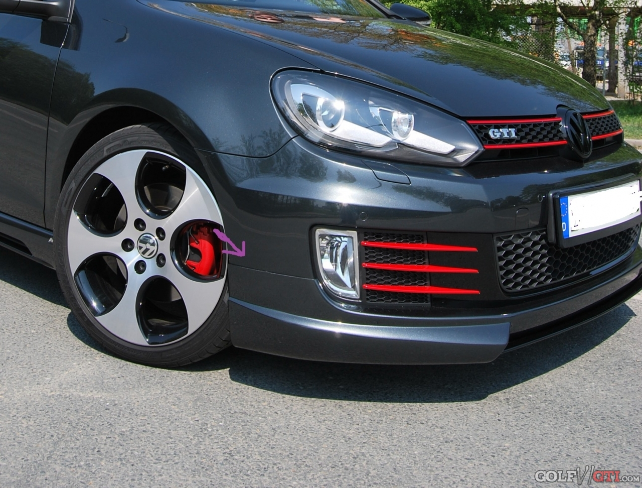 montage rieger bodykit golf vi gti community forum. Black Bedroom Furniture Sets. Home Design Ideas