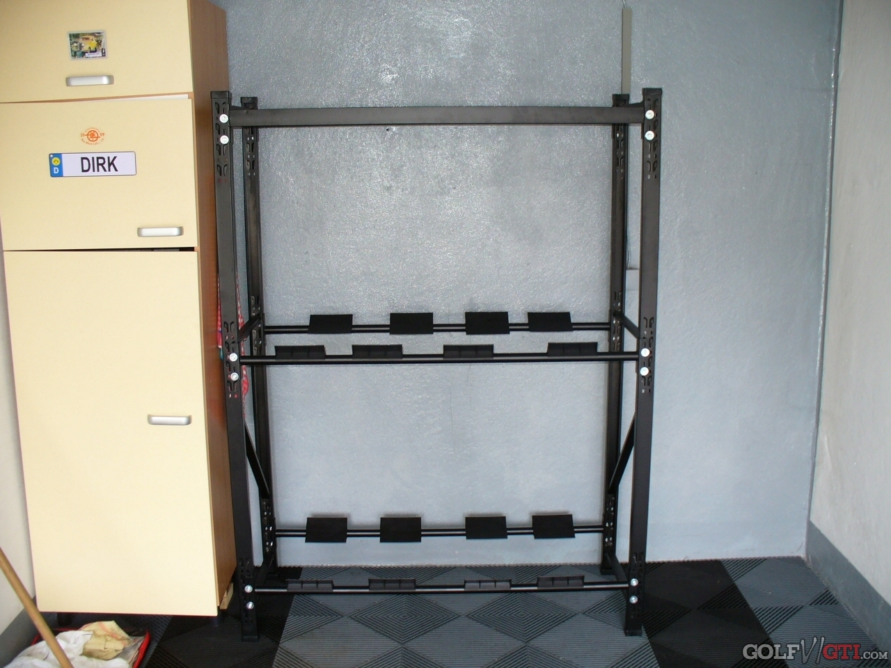 reifenst nder f r 8 reifen st nder reifen reifenhalter felgenbaum reifenst nder reifenregal. Black Bedroom Furniture Sets. Home Design Ideas